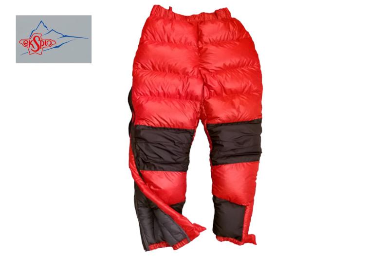 Spodnie puchowe light ekstra